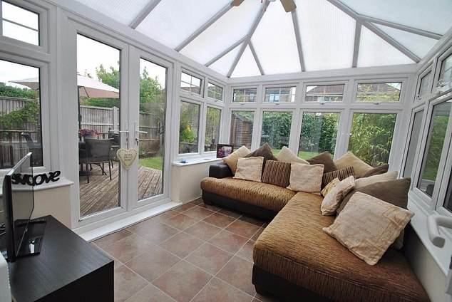 The owner of this three-bedroom property is seeking to convert the conservatory