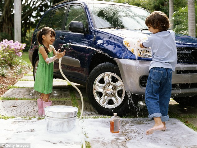 Get help from the kids: You should wash your car, clean inside your oven and vacuum your mattress every three to six months