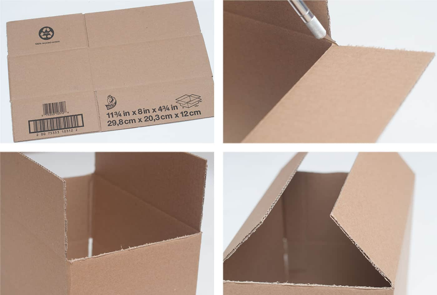 Cardboard Box Dollhouse Craft