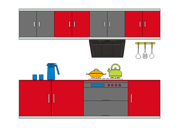 Kitchen Layout Examples