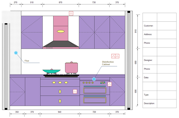 Kitchen Layout Templates
