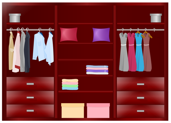 Red Wardrobe Design Example