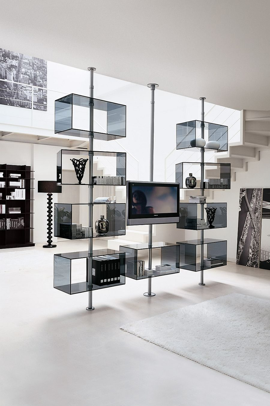 Domino TV Stand by T.Colzani for Porada